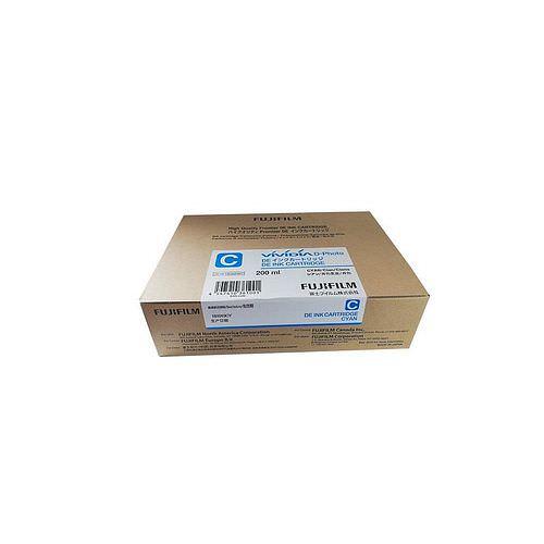 FUJI Ink Cartridge Cyan Tinte 200 ml für DE 100