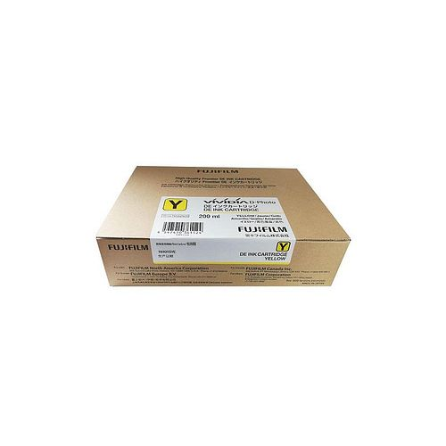 FUJI Ink Cartridge Yellow Tinte 200 ml für DE 100