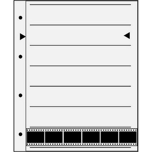 Negativhüllen 7 Streifen a6 Kleinbildfilm Negative Acetat/Acetat 25 Blatt