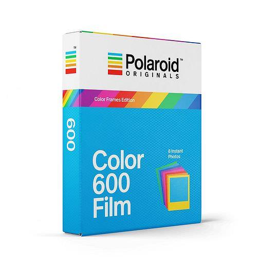 POLAROID 600 COLOR Film, *COLOR-FRAMES* 8 Aufn. für Polaroid 600 + Impulse Kameras
