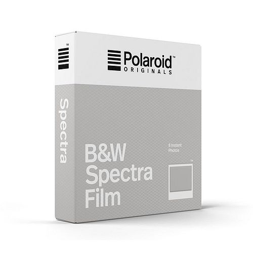 POLAROID IMAGE/Spectra Schwarzweiß Film, 8 Aufn. für Polaroid Image Kameras