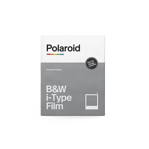 POLAROID I-Typ B/W Schwarzweiß 8 Aufn. ohne Batterie für I-1 Kamera + Instant Lab und one step 2 Kamera