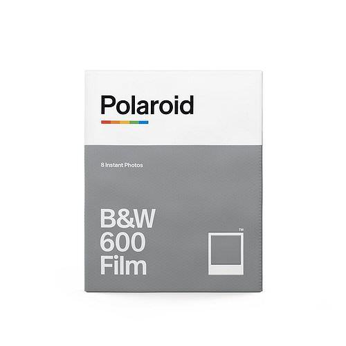 POLAROID 600 B&W Schwarzweiß Film, 8 Aufn. für Polaroid 600 und Impulse Kameras