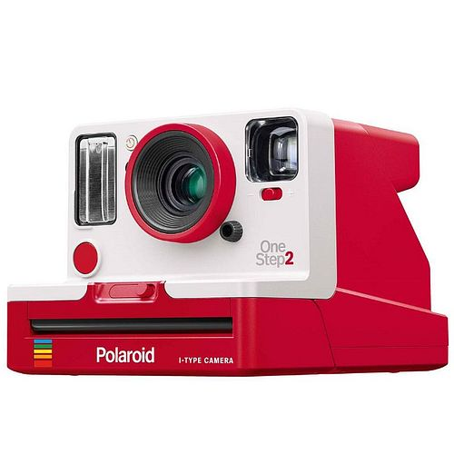 POLAROID OneStep 2 VF Kamera mit Viewfinder, Red