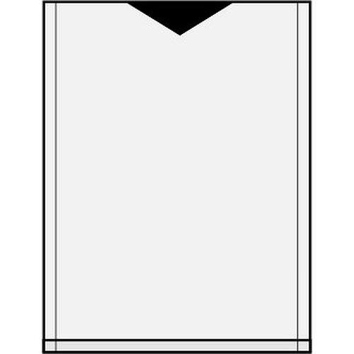 ARCHIVHÜLLEN 4x5 inch / 10,2x12,7cm 100 Stück