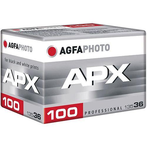 AGFAPHOTO Pan APX 100 Schwarzweißfilm, 135-36