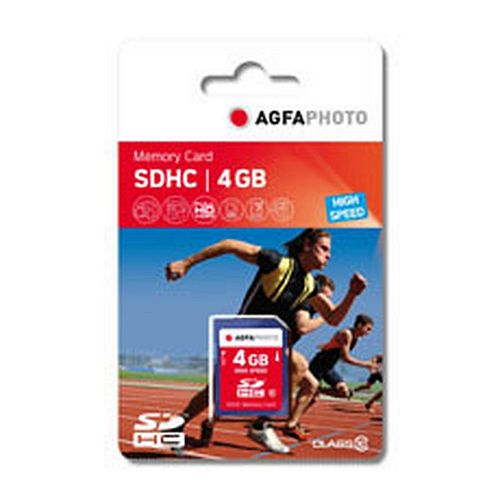 AGFAPHOTO Secure Digital SDHC 4 GB High Speed Class 10