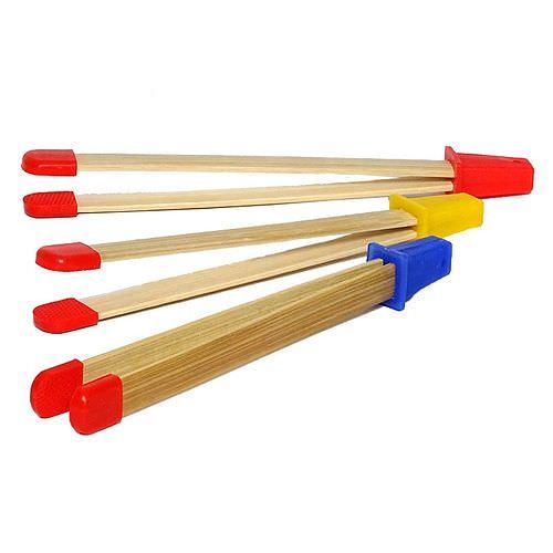 Bilderzangen-Set aus Bambus, 3 Stück