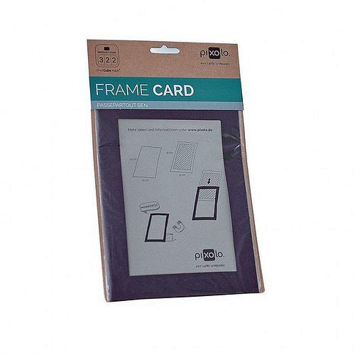 PIXOLO Frame Card Ben schwarz 1 Stück