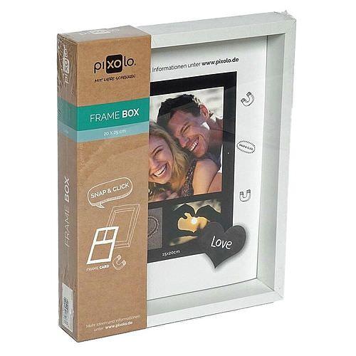 PIXOLO Frame Box White 15x20 1 Stück