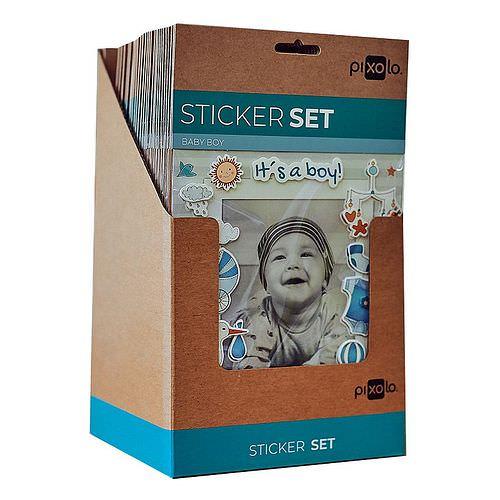 PIXOLO Fun Sticker Baby 30 Stück