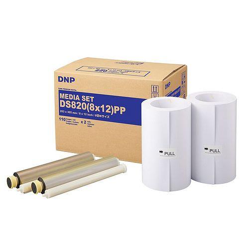 DNP Mediaset für DS 820 Drucker 20x30cm (8x12inch) PP für 2x 110 Prints