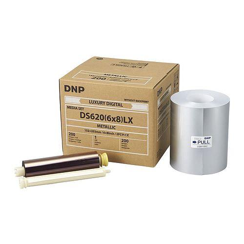 DNP METALLIC Mediaset DS 620 Drucker für 400 Prints 10x15cm oder 200 Prints 15x20cm