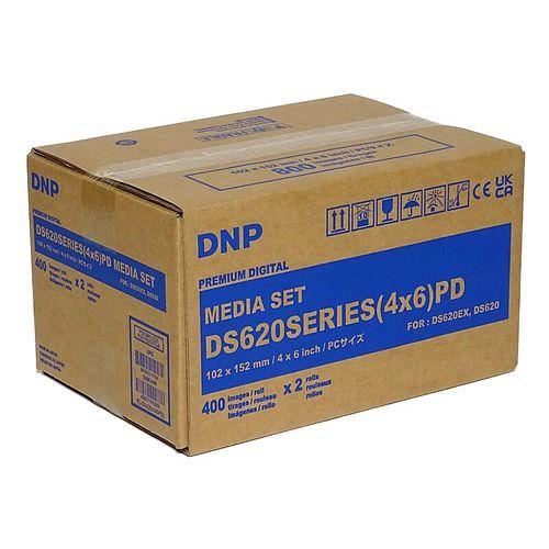 DNP Mediaset für DS 620 Drucker 10x15cm (4x6inch) für 800 Bilder