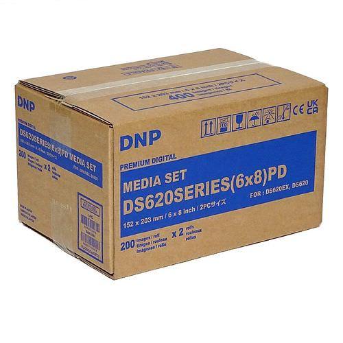 DNP Mediaset für DS 620 Drucker 15x20cm (6x8inch) und 10x15cm (4x6inch)