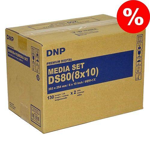 DNP Mediaset für DS 80 Drucker 20x25cm (8x10inch) für 260 Prints