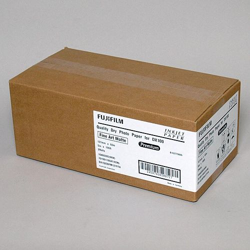 FUJI DryPhoto Paper DX 230 Fine Art Matt 12,7cmx60m