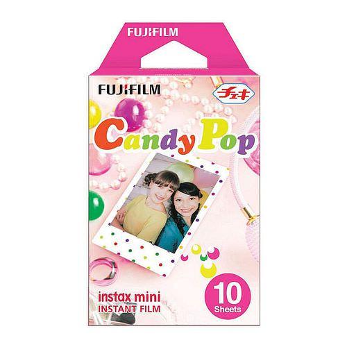 FUJI Instax Mini CANDY POP Film, 1x 10 Aufnahmen