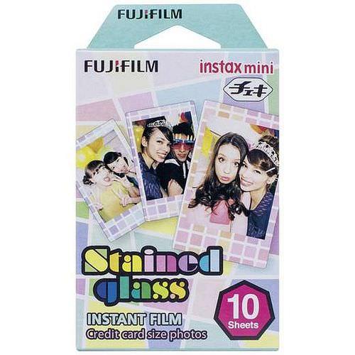 FUJI Instax Mini STAINED GLASS Film, 1x 10 Aufnahmen