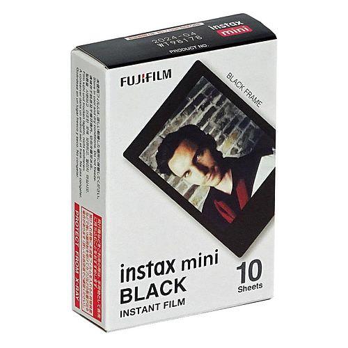 FUJI Instax Mini BLACK FRAME Film, 1x 10 Aufnahmen