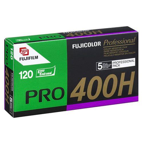 FUJI PRO 400 H Negativ-Farbfilm, 120 Rollfilm 5 Stück
