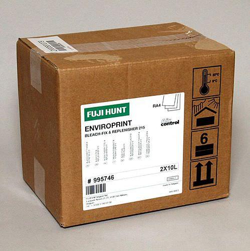 FUJIHUNT RA4 EnviroPrint Bleichfix 215 AC KIT für 2x 10 Liter