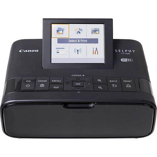 CANON Selphy CP 1300 Fotodrucker / Thermodrucker schwarz