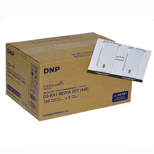 DNP Mediaset FotoToGo für DSRX1 Drucker (KEIN HS !) 10x15cm (4x6inch) für 1400 Prints