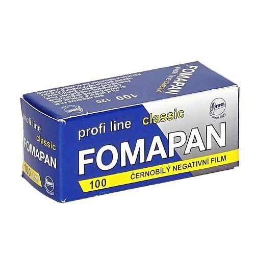 FOMA Fomapan Classic 100 Schwarzweißfilm, 120