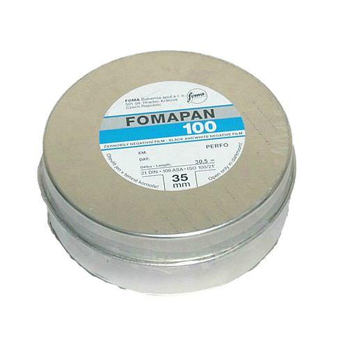 FOMA Fomapan 100 Schwarzweißfilm, 35mm x 30,5m