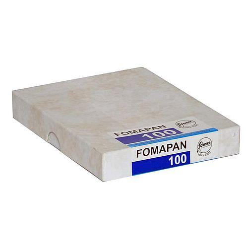 FOMA Fomapan 100 Schwarzweißfilm, 9x12cm, 50 Blatt