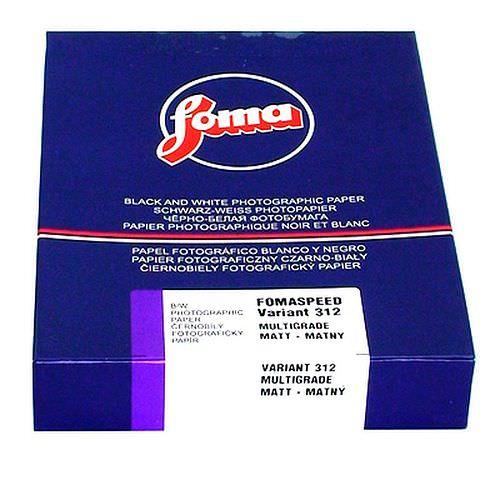 FOMA Fomaspeed Variant 312 matt 24x30cm 50 Blatt