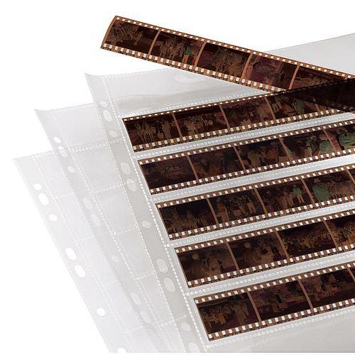 HAMA Negativhüllen 24x36mm PP klar 25 Blatt