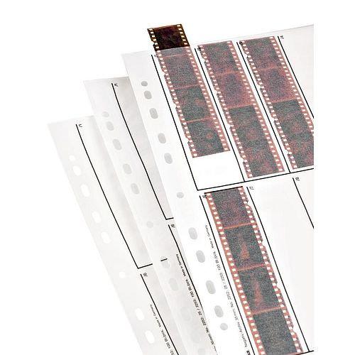 HAMA Negativhüllen 10 Streifen a4 KB-Negative Pergamin 25 Blatt