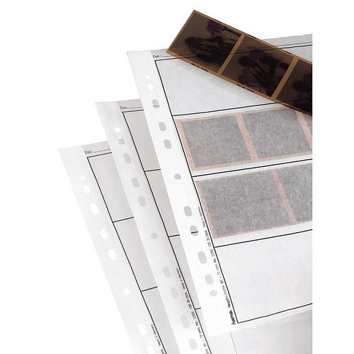 HAMA Negativhüllen 4 Streifen a3 6x7-Negative Pergamin 100 Blatt