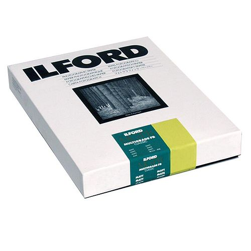 ILFORD Multigrade FB Classic Matt 5K Schwarzweiß-Fotopapier 18x24cm 100 Blatt