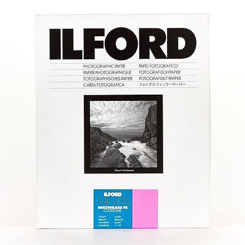 ILFORD Multigrade FB Cooltone Glossy 1K Schwarzweiß-Fotopapier 18x24cm 100 Blatt