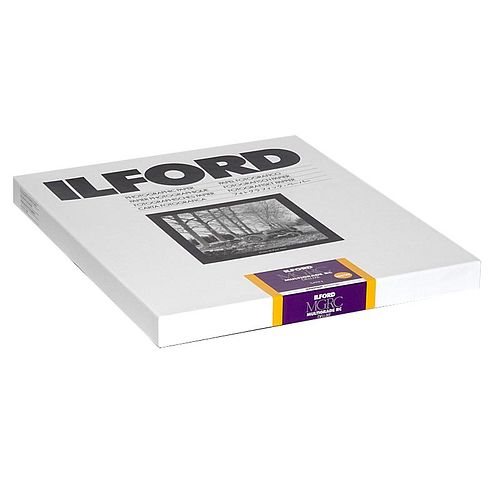 ILFORD Multigrade 25M satin Schwarzweiß-Fotopapier 18x24cm 100 Blatt
