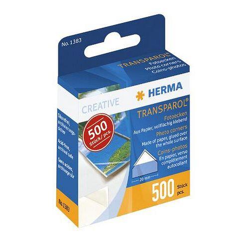 HERMA Transparol Fotoecken selbstklebend 500 Stück