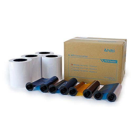 HiTi Fotopapier / Thermopapier G2 10x15cm (4x6inch) für HiTi P510 K/L/S, 4x 330 Blatt