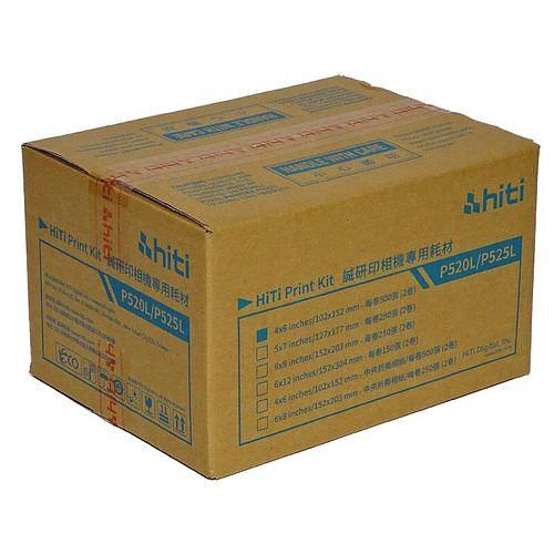 HiTi Fotopapier / Thermopapier G2 10x15cm (4x6) für HiTi P520 / P525L NEU: 2x 500 Blatt