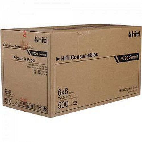 HiTi Fotopapier / Thermopapier 15x20cm (6x8inch) für HiTi 720L 1000 Blatt