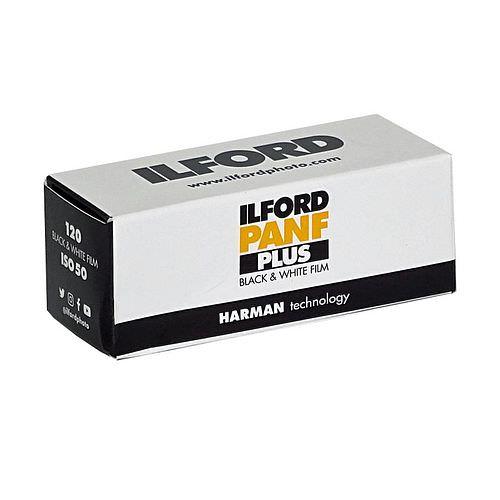 ILFORD Pan F Plus 50 Schwarzweißfilm, 120