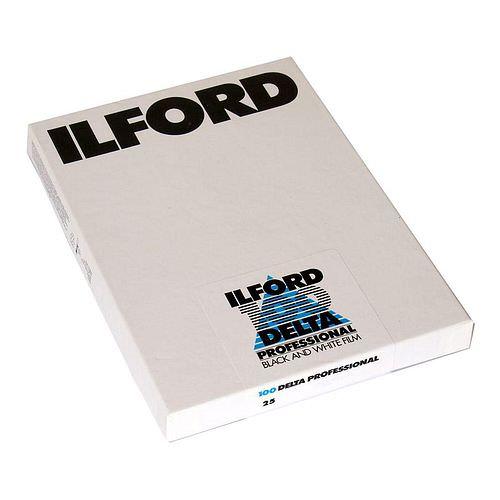 ILFORD Delta 100 Schwarzweißfilm, 9x12cm, 25 Blatt