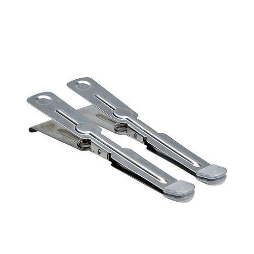 KAISER Edelstahl-Pinzetten mit Schutzkappen 2 Stück