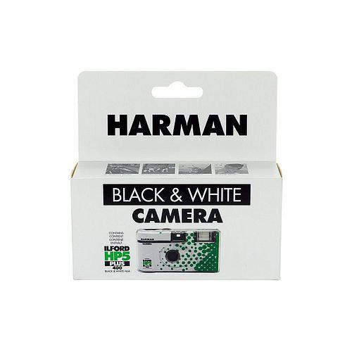 ILFORD Einwegkamera mit HP 5 Schwarzweißfilm 400 ASA 24+3 Bilder mit Blitz