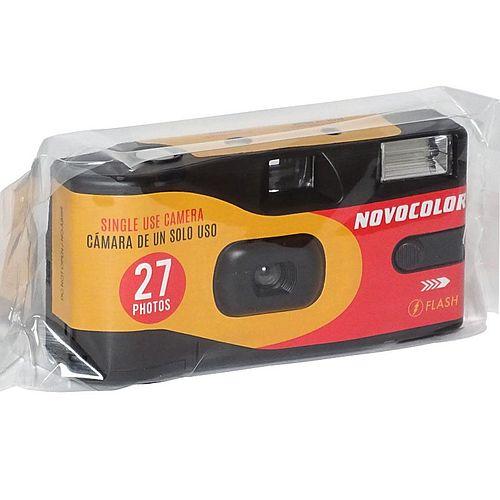 NOVOCOLOR Einwegkamera Flash 400 ASA 27 Bilder