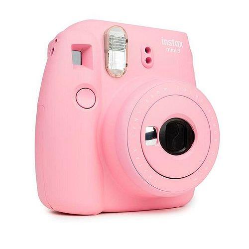 FUJI Instax Mini 9, Kamera Blusch Rose