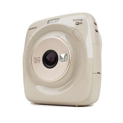 FUJI Instax SQUARE SQ20 Sofortbild-Kamera beige