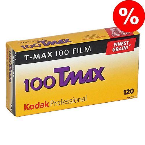 KODAK T-Max 100 (TMX) Schwarzweißfilm, 120, 5 Stück